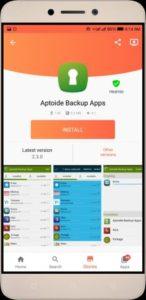 Aptoide Apk Backup Apps