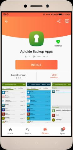 Aptoide Apk Backup Apps