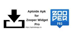 Aptoide Apk for Zooper Widget Pro