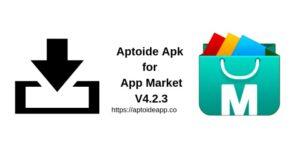Aptoide Apk for App Market V4.2.3